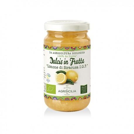 Marmellata di Limoni di Siracusa IGP Senza Zucchero BIO gr.240