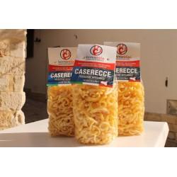 Caserecce trapanesi di grano duro g. 500  prodotto con semola Siciliana a basse temperature (pasta convenzionale)