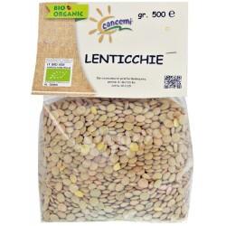 Lenticchie biologiche siciliane gr.500