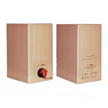 VINO Biologico BUSECCHIO Nero d'avola Bag in Box da 5 Litri
