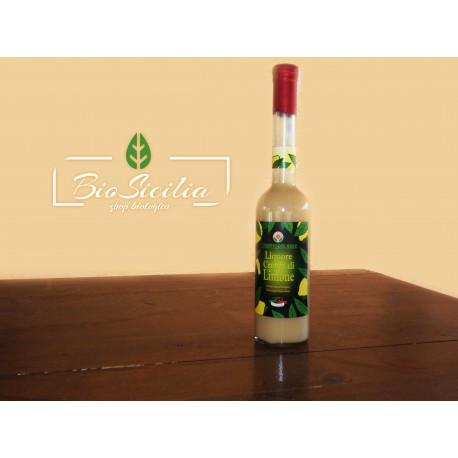 Liquore Crema di Limone Biologico
