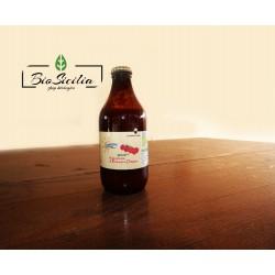 Salsa pronta di pomodoro ciliegino biologico  formato bottiglia 330 gr.