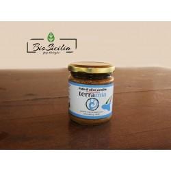Patè di olive verdi condite Varietà Nocellara della Valle del Belice