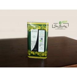 ExtraVirgin Olive Oil Certified organic tinplate