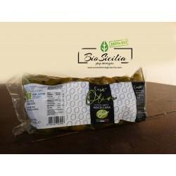Olive BIO  Nocellara del Belice intere verdi in salamoia - conf. da 500 gr